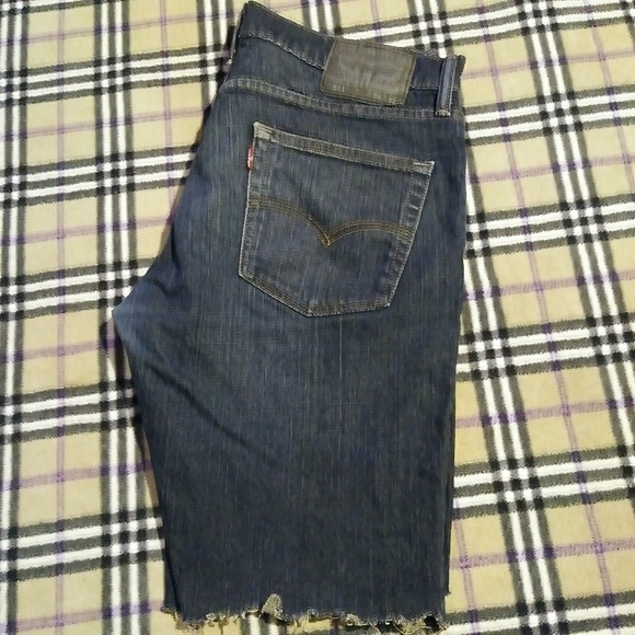 Levi's Other - Levi's 511 Skinny Fit Size 34 Cut Off Shorts!